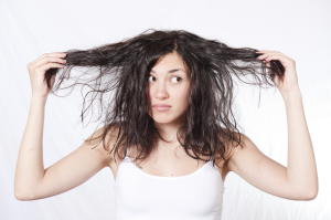 Why  Hair Turns Greasy